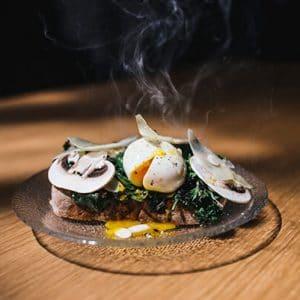 oeuf-mollet-asperge-champignon
