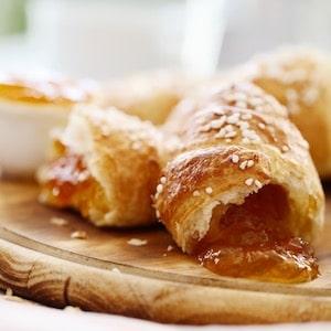 Croissants-aux-abricots